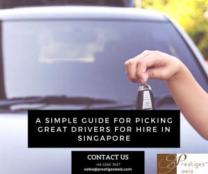drivers for hire in Singapore   hire a driver for a day singapore   personal driver for hire   personal driver singapore   hire chauffeur singapore   preztigez Asia   preztigezasia